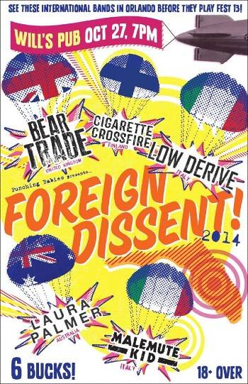 Foreign Dissent 1 Poster